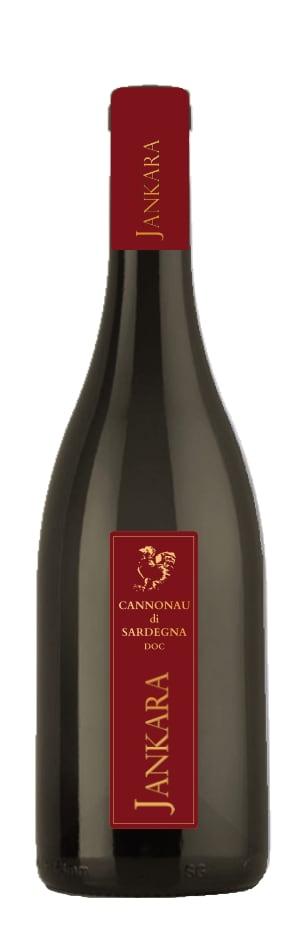 una bottiglia di Cannonau Jankara