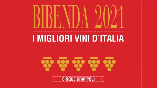 Bibenda premio 5 Grappoli 2021 blurb