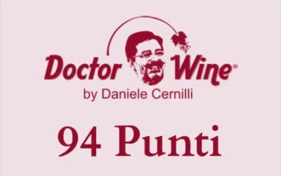 Daniele Cernilli e DoctorWine assegnano 94 punti al nostro Vermentino di Gallura Superiore 2019